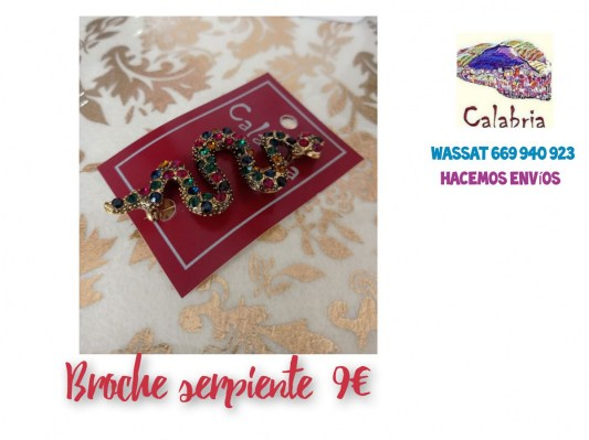 broche-serpiente