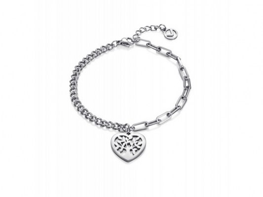 pulsera-doble-acero-corazon